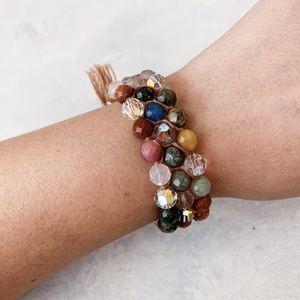 Chan Luu Multi Stone Crystal Bracelet